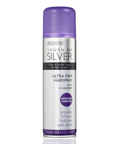 Pro Voke Touch Of Silver Ultra Firm Hairspray
