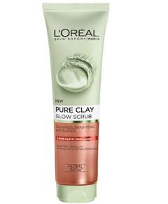 Skin Expert Pure Clay Glow Scrub