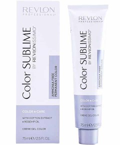 Revlonissimo Color Sublime Ammonia Free Creme Gel Color