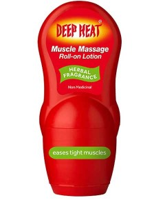Deep Heat Muscle Massage Roll On Lotion