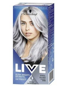 Live Ultra Brights Or Pastel Steel Silver 098