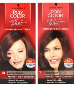 Grey Hair Poly Color Tint Permanent Colour Pakcosmetics