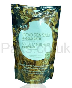 Dead Sea Salt and Gold Bath