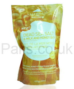 Dead Sea Salt and Milk and Honey Bath