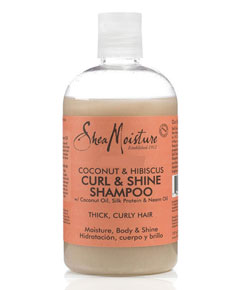 Coconut And Hibiscus Curl And Shine Shampoo