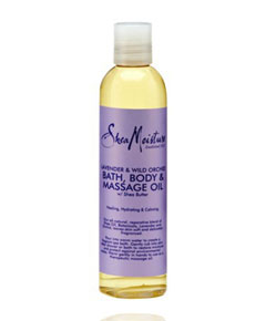 Lavender And Wild Orchid Bath Body And Massage Oil