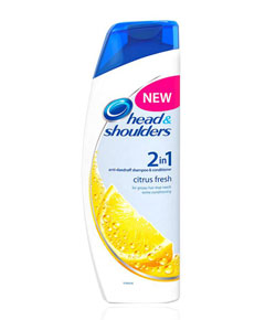 2In1 Citrus Fresh Anti Dandruff Shampoo And Conditioner