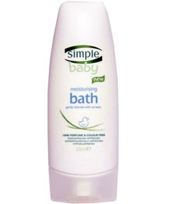 Simple Baby Moisturising Bath