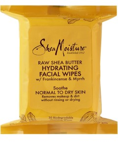 Raw Shea Butter Hydrating Facial Wipes