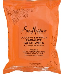 Coconut And Hibiscus Radiance Facial Wipes