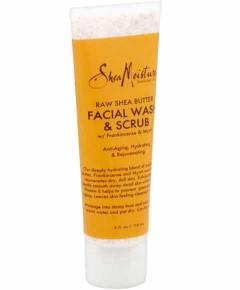 Raw Shea Butter Facial Wash And Scrub