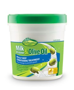 Sof n Free Gro Healthy Milk Protein and Olive Oil Really Deep Conditioning Treatment