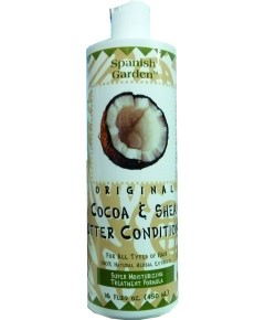 Spanish Garden Original Cocoa and Shea Butter Conditioner