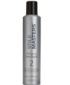 Style Masters 2 Hairspray Pure Styler Medium Hold