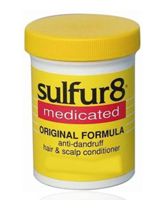 Sulfur 8 Medicated Original Formula Anti Dandruff Hair And Scalp Conditioner