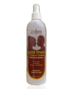 Braid Sheen And Leave In Conditioner With Shea Butter