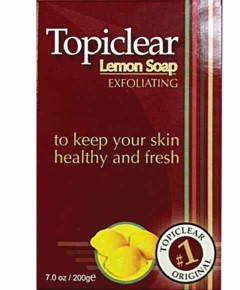Topiclear Lemon Exfoliating Soap