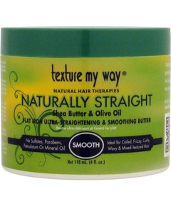 Texture My Way Naturally Straight Flat Iron Ultra Straightening And Smoothing Butter