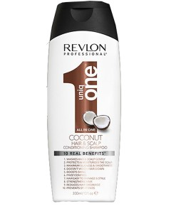Uniq One All In One Coconut Hair And Scalp Conditioning Shampoo
