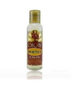 OKAY Shea Butter Oil for Skin and Hair